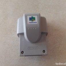 Videojuegos y Consolas: RUMBLE PAK N64 NINTENDO 64. Lote 173489424