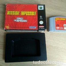 Videojuegos y Consolas: NINTENDO 64 JUEGO MISSION : IMPOSSIBLE VERSIÓN PAL. Lote 174180318