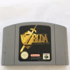 Videojuegos y Consolas: THE LEGEND OF ZELDA OCARINA OF TIME NINTENDO 64. Lote 174511359