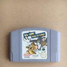 Videojuegos y Consolas: JUEGO N64 - TOM & JERRY - PAL EUROPA - ORIGINAL PARA NINTENDO 64. Lote 173551028