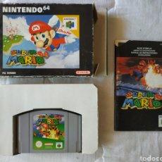Videojuegos y Consolas: SUPER MARIO 64 NINTENDO 64. Lote 175589680