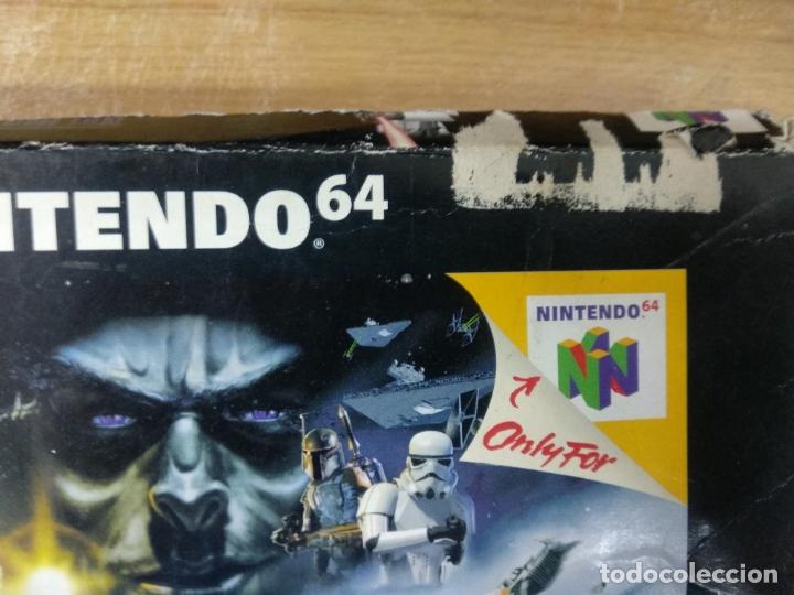 Videojuegos y Consolas: Star Wars shadows of the empire - Nintendo 64 - N64 - PAL uk - - Foto 2 - 176218595