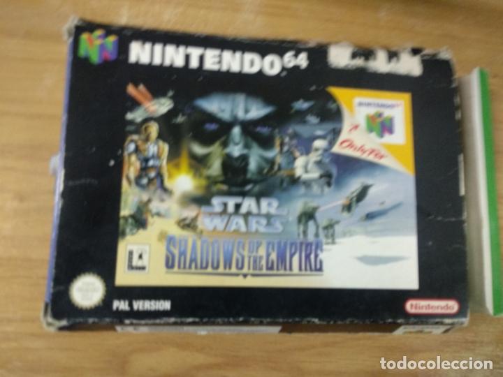 STAR WARS SHADOWS OF THE EMPIRE - NINTENDO 64 - N64 - PAL UK - (Juguetes - Videojuegos y Consolas - Nintendo - Nintendo 64)