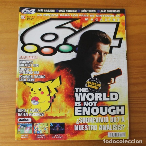 64 Magazine 38 Nintendo 007 The World Is Not E Sold Through