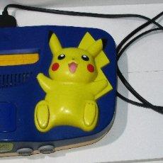Videojuegos y Consolas: NINTENDO 64 N64 CONSOLA EDICIÓN POKÉMON, PIKACHU. Lote 179032031
