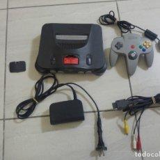 Videojuegos y Consolas: CONSOLA NINTENDO 64 N64 + EXPANSION PAK . Lote 179099605