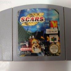 Videojuegos y Consolas: J- SCARS NINTENDO 64 VERSION EUROPEA NUS-006 MUY BUEN ESTADO. Lote 179156363