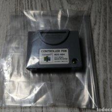 Videojuegos y Consolas: CONTROLLER PAK NINTENDO 64. Lote 179964922