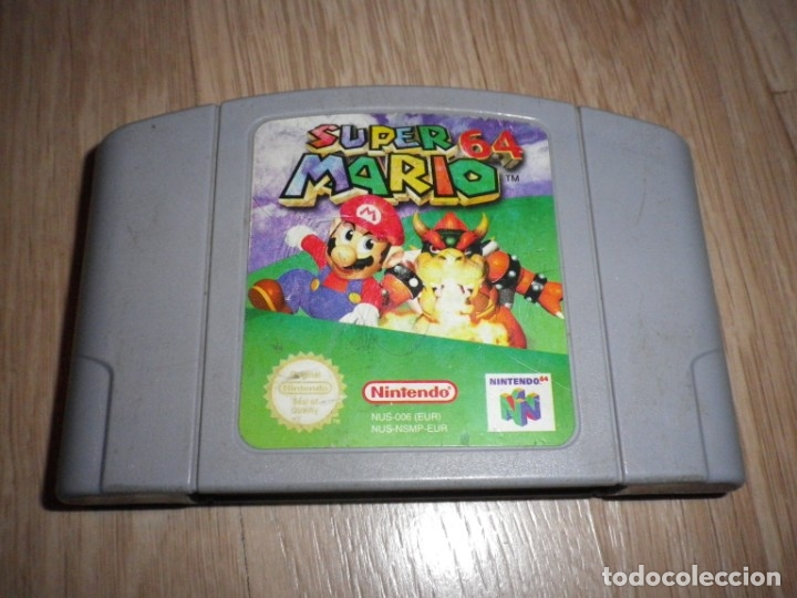 NINTENDO 64 JUEGO SUPER MARIO 64 (Juguetes - Videojuegos y Consolas - Nintendo - Nintendo 64)