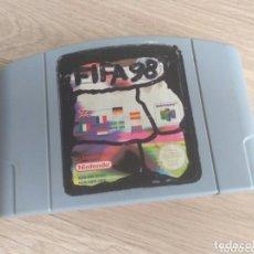 Videojuegos y Consolas: NINTENDO 64 JUEGO FIFA 98. Lote 181595316