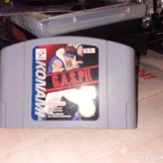 Videojuegos y Consolas: VIDEO JUEGO G.A.S.P. PARA NINTENDO 64.KONAMI 1998 NUS - EUR .SOLO CARTUCHO.. Lote 182034988
