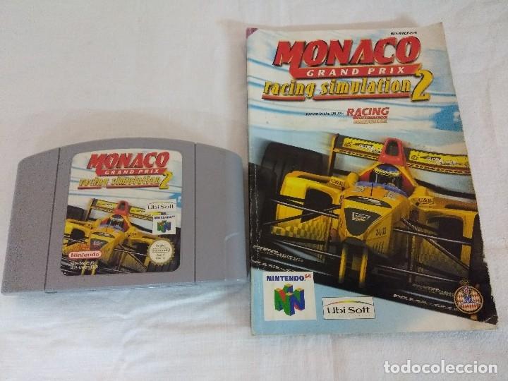 JUEGO NINTENDO 64/MONACO GRAND PRIX-RACING SIMULATION 2. (Juguetes - Videojuegos y Consolas - Nintendo - Nintendo 64)