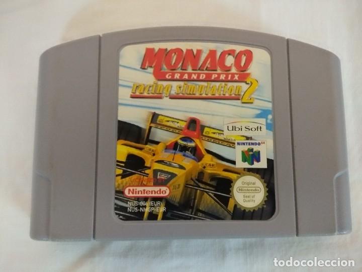 Videojuegos y Consolas: JUEGO NINTENDO 64/MONACO GRAND PRIX-RACING SIMULATION 2. - Foto 2 - 182297345