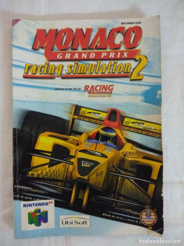 Videojuegos y Consolas: JUEGO NINTENDO 64/MONACO GRAND PRIX-RACING SIMULATION 2. - Foto 3 - 182297345