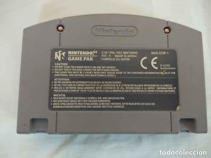 Videojuegos y Consolas: JUEGO NINTENDO 64/MONACO GRAND PRIX-RACING SIMULATION 2. - Foto 4 - 182297345