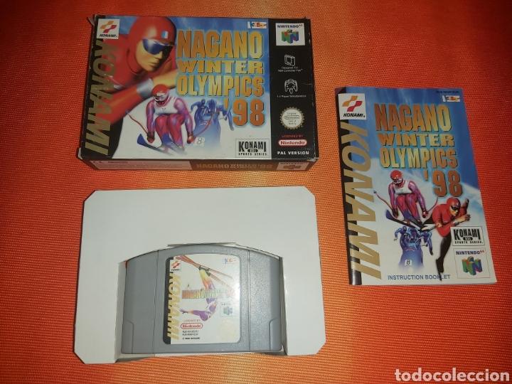 NAGANO NINTENDO 64 (Juguetes - Videojuegos y Consolas - Nintendo - Nintendo 64)