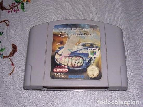 N64 NINTENDO 64 JUEGO TOP GEAR OVERDRIVE (Juguetes - Videojuegos y Consolas - Nintendo - Nintendo 64)