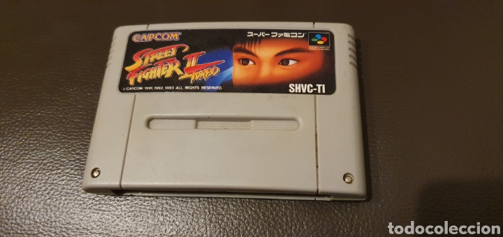 Juego Street Fighter Ii Super Famicon Japonesa Buy Video Games