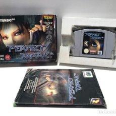 Videojuegos y Consolas: PERFECT DARK NINTENDO 64 N64. Lote 190329701