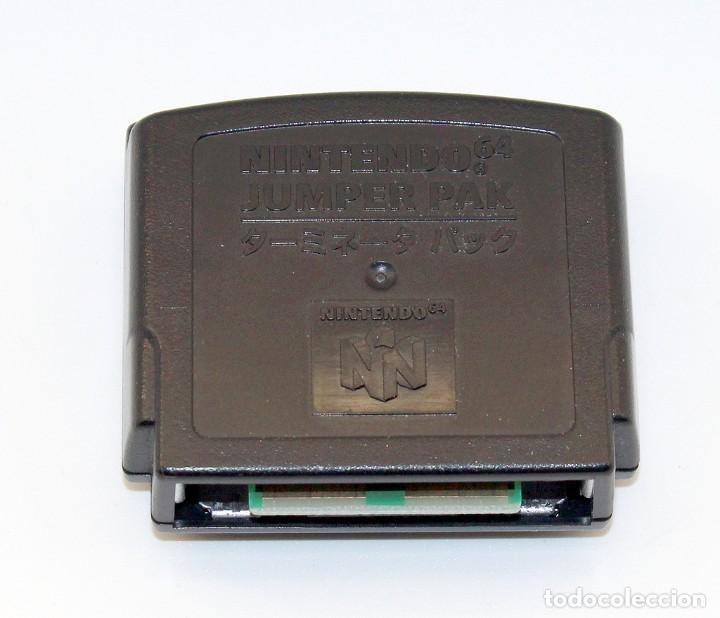 Videojuegos y Consolas: NINTENDO 64 - JUMPER PAK - Foto 4 - 268879314