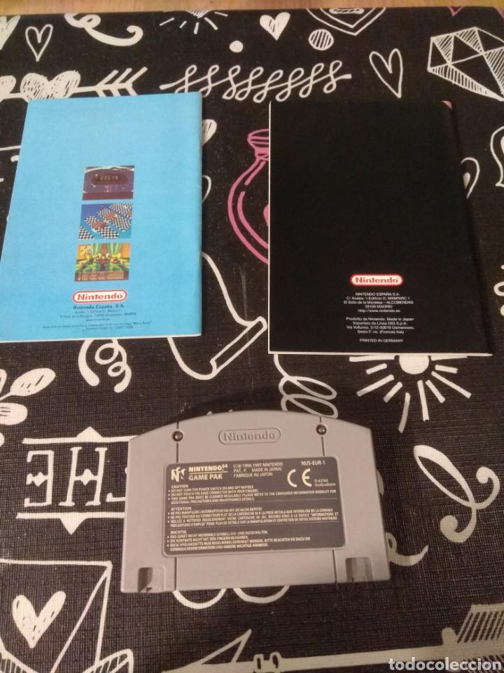 Videojuegos y Consolas: Cartucho, manual de instrucciones y guia de juegos Mario party Nintendo64 - Foto 2 - 164918024