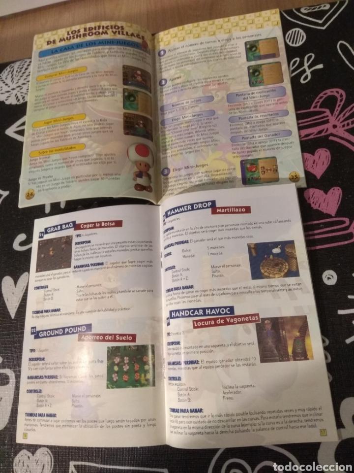Videojuegos y Consolas: Cartucho, manual de instrucciones y guia de juegos Mario party Nintendo64 - Foto 3 - 164918024