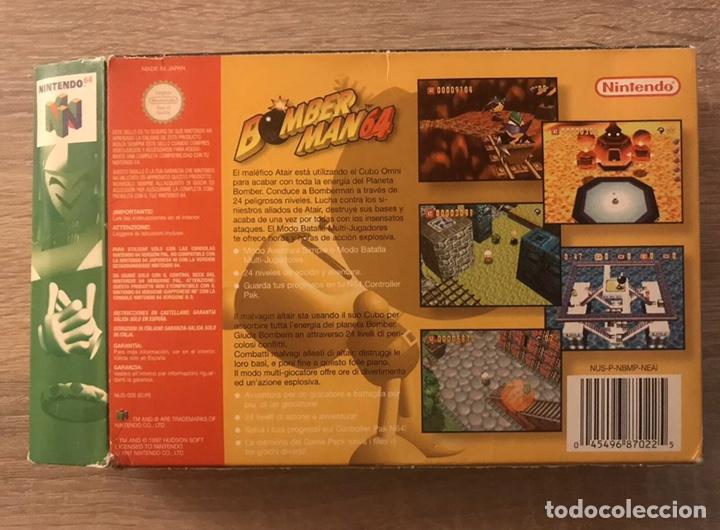 Videojuegos y Consolas: Bomberman 64 Nintendo 64 N64 Completo PAL España - Foto 3 - 194086866