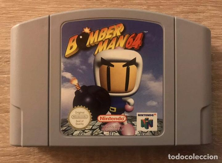 Videojuegos y Consolas: Bomberman 64 Nintendo 64 N64 Completo PAL España - Foto 7 - 194086866