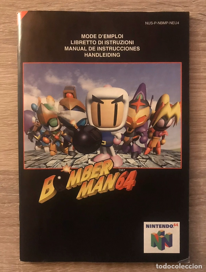 Videojuegos y Consolas: Bomberman 64 Nintendo 64 N64 Completo PAL España - Foto 9 - 194086866