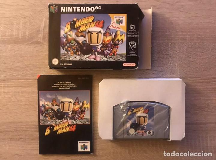 BOMBERMAN 64 NINTENDO 64 N64 COMPLETO PAL ESPAÑA (Juguetes - Videojuegos y Consolas - Nintendo - Nintendo 64)