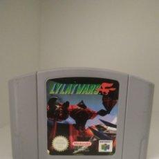 Videojuegos y Consolas: LYLAT WARS. N64 PAL EUR. SOLO CARTUCHO.. Lote 206399778