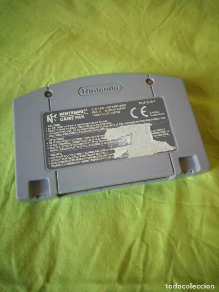 Videojuegos y Consolas: JUEGO nintendo 64 007 goldeneye - Foto 3 - 195135562