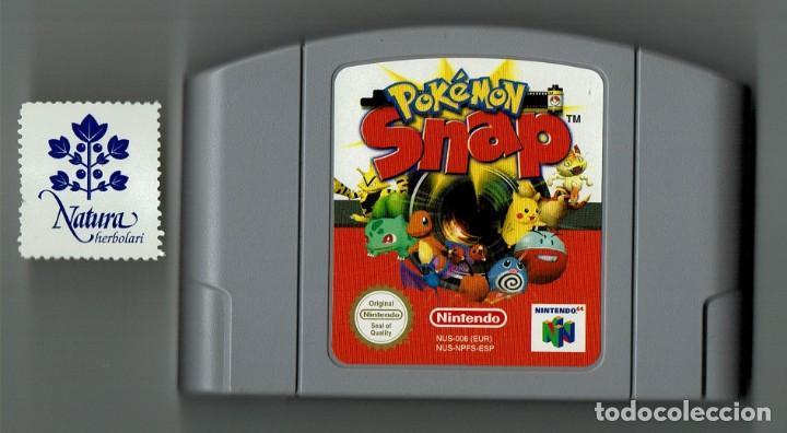 JUEGO POKEMON SNAP SOLO CARTUCHO NINTENDO 64 (Juguetes - Videojuegos y Consolas - Nintendo - Nintendo 64)