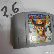 Videojuegos y Consolas: ANTIGUO JUEGO NINTENDO 64 MARIO PARTY 2. Lote 198363742