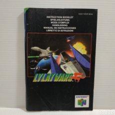 Videogiochi e Consoli: MANUAL LYLATWARS NINTENDO 64. Lote 198756327