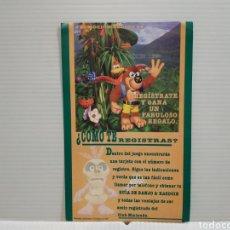Videogiochi e Consoli: MANUAL FOLLETO PUBLICITARIO BANJO KAZOOIE NINTENDO 64. Lote 198757172