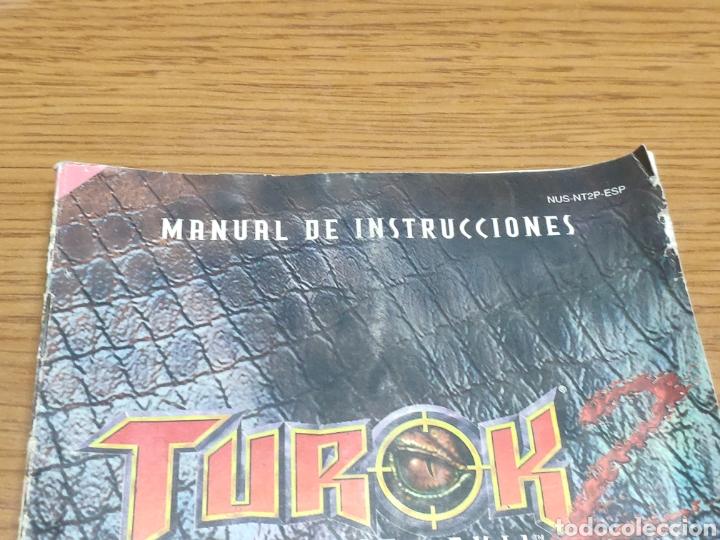 Videojuegos y Consolas: Nintendo 64 manual de instrucciones turok 2 - Foto 2 - 198925428