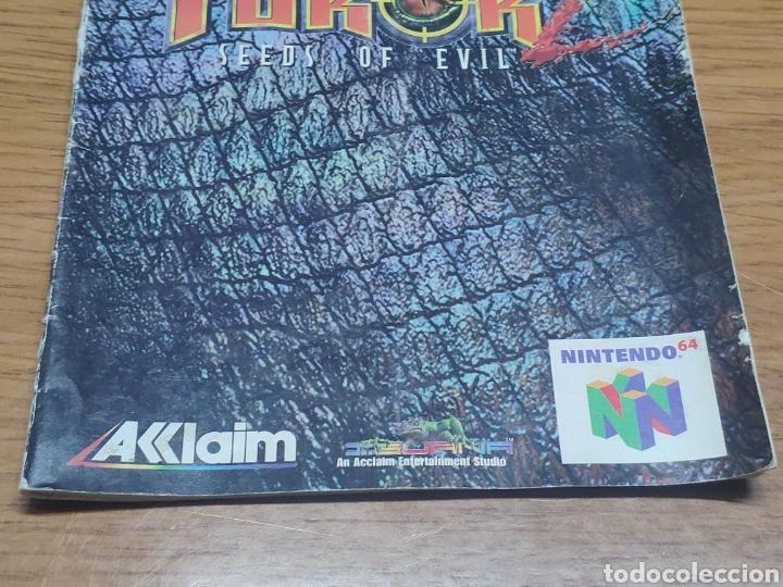 Videojuegos y Consolas: Nintendo 64 manual de instrucciones turok 2 - Foto 3 - 198925428