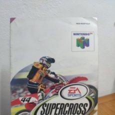 Videojuegos y Consolas: MANUAL DE INSTRUCCIONES NINTENDO 64 SUPERCROSS 2000. Lote 198936282