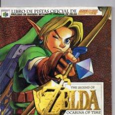 Videojuegos y Consolas: LIBRO DE PISTAS OFICIAL DE NINTENDO. ZELDA. OCARINA OF TIME.. Lote 198937767