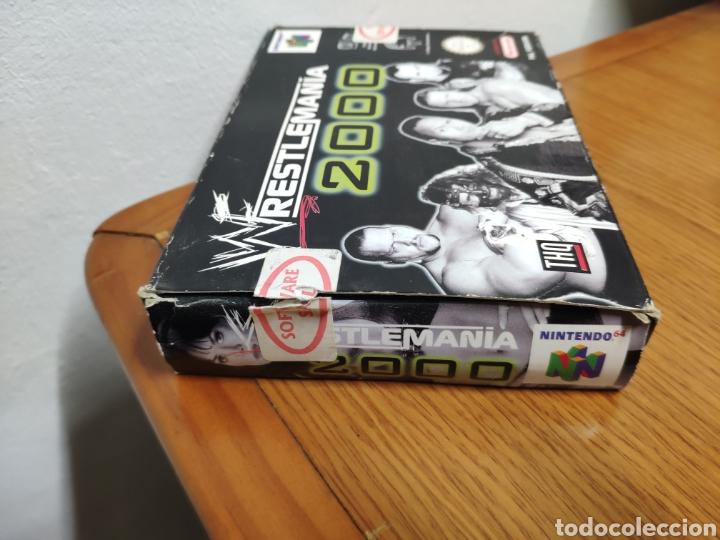 Videojuegos y Consolas: Juego completo todo original WrestleMania 2000 nintendo 64 n64 caja manual etc. - Foto 2 - 199113940