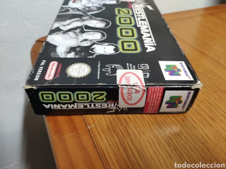 Videojuegos y Consolas: Juego completo todo original WrestleMania 2000 nintendo 64 n64 caja manual etc. - Foto 3 - 199113940