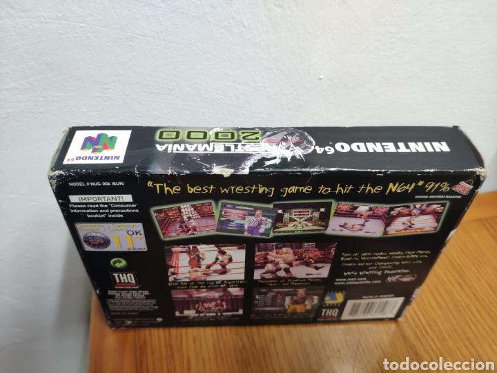 Videojuegos y Consolas: Juego completo todo original WrestleMania 2000 nintendo 64 n64 caja manual etc. - Foto 5 - 199113940