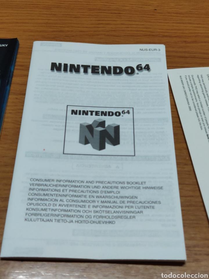Videojuegos y Consolas: Juego completo todo original WrestleMania 2000 nintendo 64 n64 caja manual etc. - Foto 9 - 199113940
