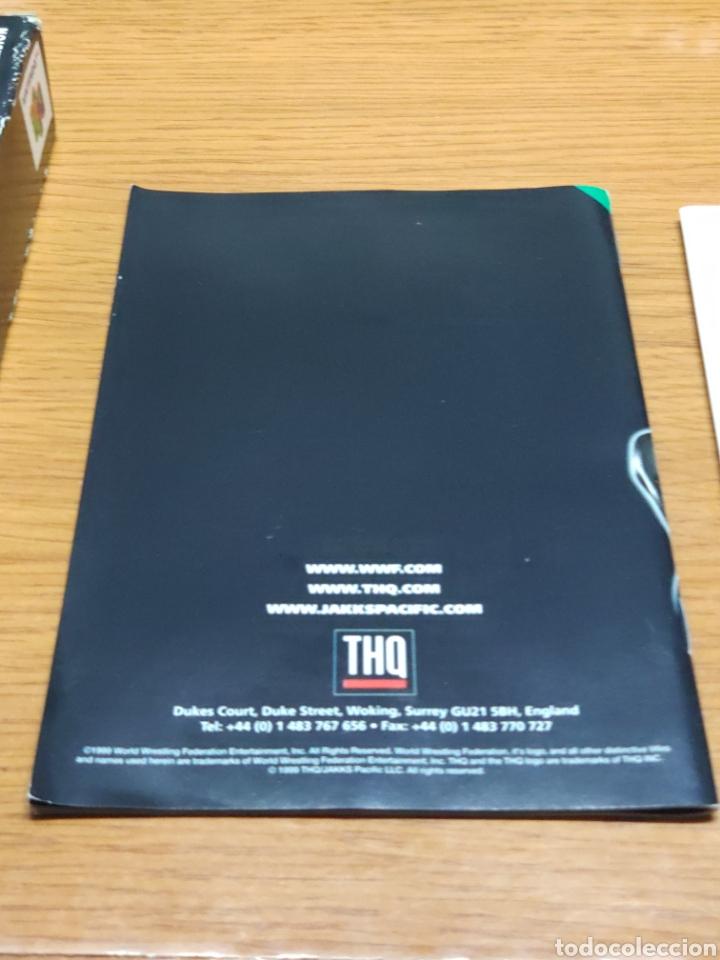 Videojuegos y Consolas: Juego completo todo original WrestleMania 2000 nintendo 64 n64 caja manual etc. - Foto 12 - 199113940