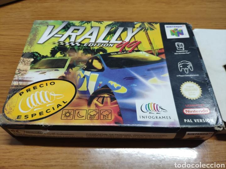Videojuegos y Consolas: Caja vacía Nintendo 64 N64 V- rally edición 99 - Foto 2 - 199123003