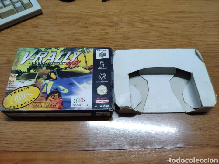 CAJA VACÍA NINTENDO 64 N64 V- RALLY EDICIÓN 99 (Juguetes - Videojuegos y Consolas - Nintendo - Nintendo 64)