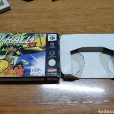 Videojuegos y Consolas: CAJA VACÍA NINTENDO 64 N64 V- RALLY EDICIÓN 99. Lote 199123003
