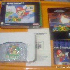 Videojogos e Consolas: NINTENDO 64 SUPER MARIO COMPLETO EN CAJA MANUAL PROBADO ORIGINAL . Lote 199137041