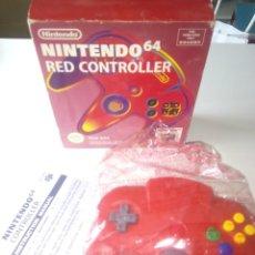 Videojuegos y Consolas: MANDO NINTENDO 64 N64. Lote 199481067